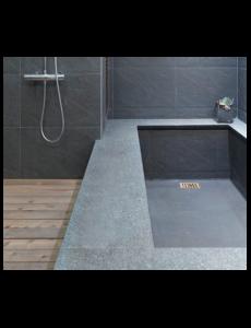 Isotanche Bain SH diam 50 avec bonde pour une baignoire maçonnée de 1800 x 900 x 500 mm - Lazer