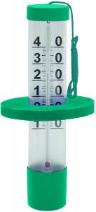Thermomètre flottant 27 cm à gros chiffres - Bayrol