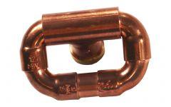 Bouton mobile en cuivre Ø12