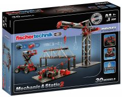 Jeu de construction Pro fischertechnik Mechanic&Static 2 (+9 ans)