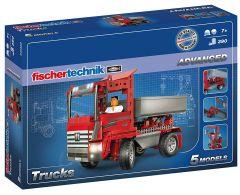 Jeu de construction Avancé fischertechnik Trucks (+7 ans)