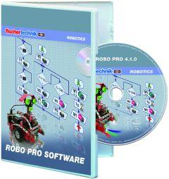 Logiciel ordinateur fischertechnik Robo Pro Software