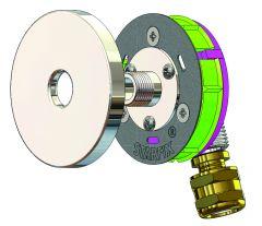 """Sortie de cloison STARFIX MONO PER à compression Ø12 - M3/8"""" (12/17) coudée - Anquier"""