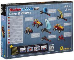 Jeu de construction Pro fischertechnik Cars&Drives (+9 ans)