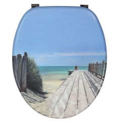Abattant WC DECO Bois Holiday Beach - Wirquin Pro 20719122