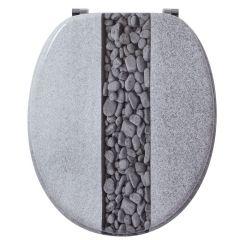 Abattant WC DECO Bois pierre - Wirquin Pro 20720371