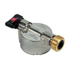 Adaptateur NF pour bouteille à valve Ø20 - sortie mâle bouteille - Gurtner