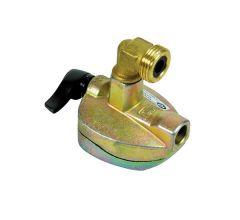 Adaptateur NF pour bouteille à valve Ø27 - sortie mâle bouteille - Gurtner