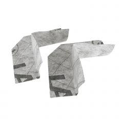 Angle sortant de pontage PVC souple - Lazer 360116