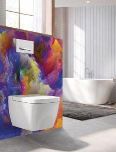 Panneau mural Decofast - Artiste - pour habillage Bâti-support - 1500 x 1200 x 3 mm - Artifice - Lazer