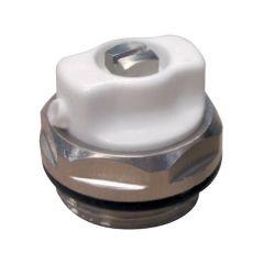 """Bouchon purgeur 1/2"""" (15/21) à bec orientable pour radiateur acier - Thermador"""