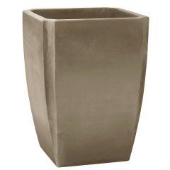 Bac à arbustes PALMEA Taupe - Vase haut 47 x 47 x 65cm - 65L