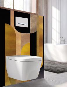 Panneau mural Decofast - Art Déco - pour habillage Bâti-support - 1500 x 1200 x 3 mm - Belle époque - Lazer