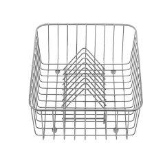 Panier à vaisselle inox - 405x308x133mm