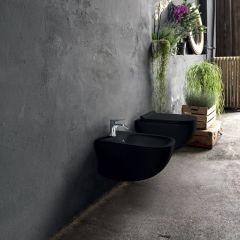 WC suspendu Wild avec abattant Cristina Ondyna