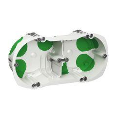 Boîte étanche 2 postes Ø 67 mm profondeur 40 mm - IMT35000