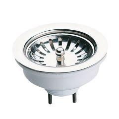 Bonde évier à panier manuel sans trop plein Ø90mm - Nicoll