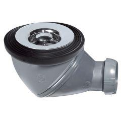 Bonde de douche JAMES grille plate NF Ø60 mm - Wirquin Pro 30720495