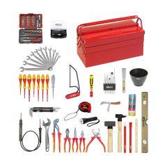 Caisse à outils isolés 1000V - 137 pcs KS Tools 117.0200