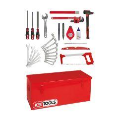 Caisse à outils tuyauteur - 28 outils KS Tools 911.0028