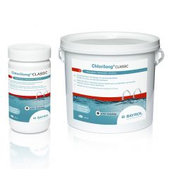 Chlorilong CLASSIC traitement chlore piscine - BAYROL