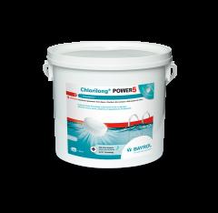 Seau de 5kg de galets Chlorilong POWER pour traitement chlore 5 fonctions piscine - Bayrol