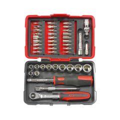 Coffret de douilles et accessoires ULTIMATE 1/4'', 47 pièces KS Tools 922.0647