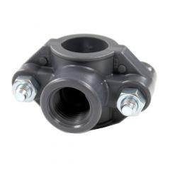 Collier de prise en charge pour tuyaux PE et PVC - Sferaco