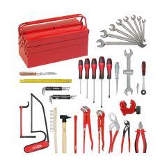 Composition d'outils Sanitaire-Chauffage en caisse métallique - 47 pièces KS Tools 116.0147