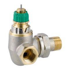 "Corps de robinet radiateur angle à gauche 3/8"" RA-DV 10 Dynamic Valve - Danfoss 013G7718"