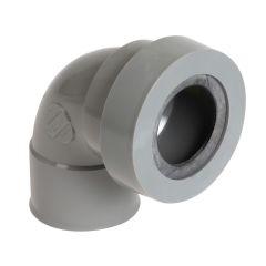 Coude 87°30 FF avec joint pour sortie d'appareils sanitaire Ø32 ou Ø40 ou Ø50 Nicoll