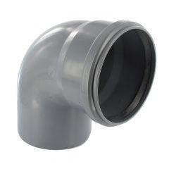 Coude PVC 87°30 assainissement MF