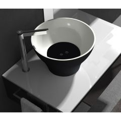 Vasque céramique Deco Cocktail diamètre 40cm - Ondyna HU382313