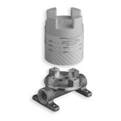 Mécanisme mitigeur pour bain/douche monocolonne et lavabo sur pied - Cristina Ondyna PD29000