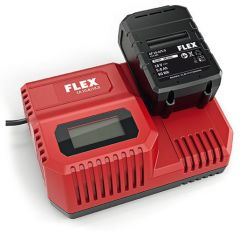 Chargeur universel 10.8V/18V pour machine Flex 18V