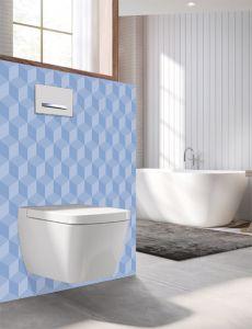 Panneau mural Decofast - Artiste - pour habillage Bâti-support - 1500 x 1200 x 3 mm - Damier bleu ciel - Lazer