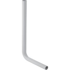 Coude de chasse Geberit 90°, moyenne position Ø50mm, Blanc alpin, 65x35 cm