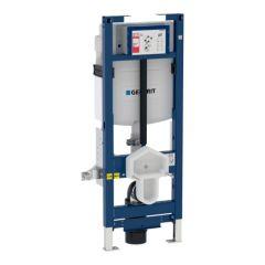 Bâti-support Duofix WC suspendu, 112 cm, adapté PMR avec WC hauteur réglable - Geberit