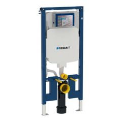 Bâti-support Duofix WC suspendu, 114 cm, en applique - Geberit