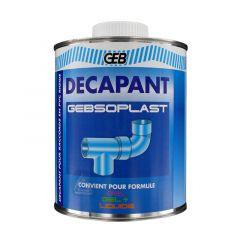 Décapant GEBSOPLAST colle raccords PVC évacuation - 1 L