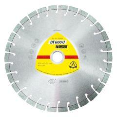 Disque à tronçonner Ø125mm diamant béton - Type DT 600 U - Klingspor 322631