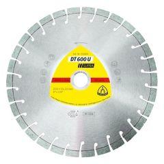 Disque à tronçonner Ø115mm diamant béton - Type DT 600 U - Klingspor 322630