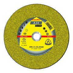 Disque à tronçonner Ø230mm A 24 EX pour métal - Klingspor