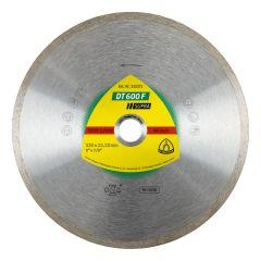 Disque à tronçonner Ø115mm diamanté carrelage - Type DT 600 F - Klingspor 325368