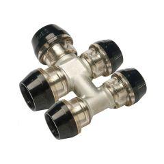 Collecteur 5 circuits push-fit ixPress2 Ø20x2,0 - Ø20x2,0 - Ø16x2,0 - Ø16x2,0 - Ø16x2,0