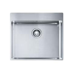 Évier Box Inox Slimtop BXX210-54 - 570x510x200 mm - Sous meuble 60 cm - Franke