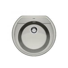 Evier à encastrer BLANCO RONDOVAL 45 Gris perle - Vidage automatique