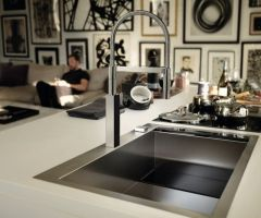 Evier de cuisine Franke Crystal Inox Slimtop CLV214 - 1000*512mm