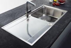 Évier de cuisine Maris 211 INOX ET MICRODEKOR® 1000 x 510 x 180 mm - Franke