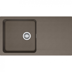 Évier SIRIUS SID621 - Vulcan - 940x510x190 mm - Sous meuble  60 cm - Franke